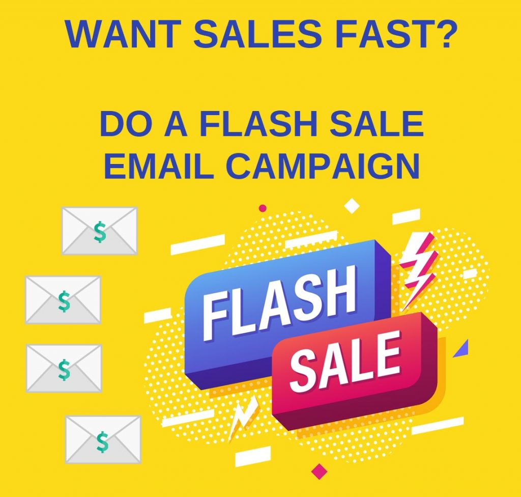 fast sales flash sale